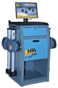 Alineador de dirección Hpa/Faip C-400, con 4 sensores, 8 cámaras y transmisión de datos vía radio