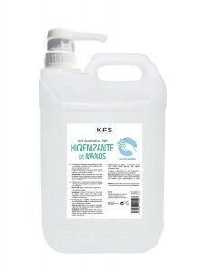 Gel alcohólico higienizante KFS 5 Litros