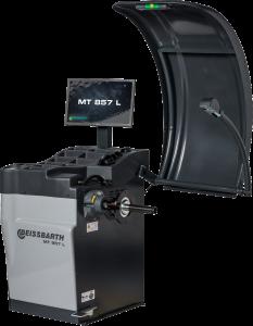 Equilibradora de ruedas electrónica con monitor LCD MT 857 L