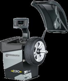 Equilibradora de ruedas electrónica con pantalla LCD MT-ZERO-6-LCD-AWLP