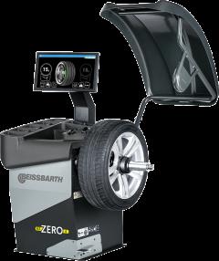 Equilibradora de ruedas electrónica con pantalla LCD MT ZERO 6 TOUCH AWLP