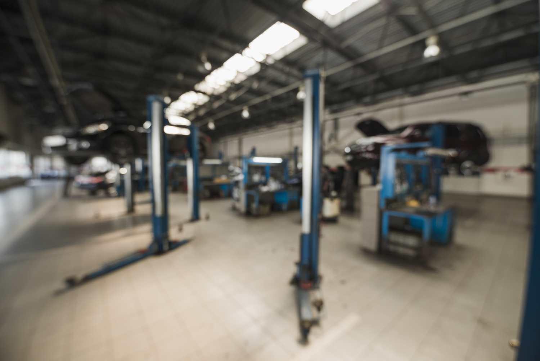 maquinaria de taller mecanico